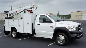 Dodge Ram 3500 Utility Truck - 2008 dodge ram 5500 service utility crane mechanics truck cummins