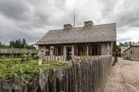 Impressive Design 7 Colonial Farmhouse A Tour Of Colonial Michilimackinac U2013 Life In Michigan