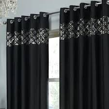 Curtains Ring Top Black Sequin Curtains Sequin Eyelet Ring Top Fully Lined Curtains