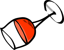 glasses clipart wine bottle wine glass clipart image 2 famclipart clipartbarn