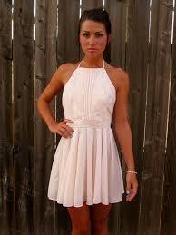 light pink halter dress whatgoesgoodwith com light pink dress 30 cuteoutfits all