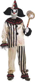 scary clown costumes create your own men s scary clown costume accessories party city