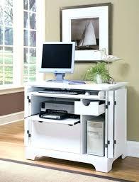 Corner Hideaway Computer Desk Amazing Office Decor Hideaway Desks Oak Home Computer Desk Corner