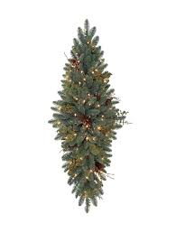 christmas swags for outdoor lights mountain meadow artificial christmas swag balsam hill
