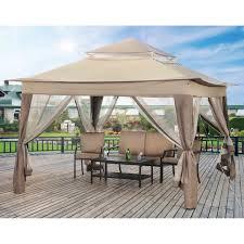 Patio Canopy Gazebo by Gazebo Ideas Better Homes And Gardens Portable Patio Gazebo With