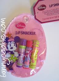 minnie mouse easter trio lip smacker collectors blog