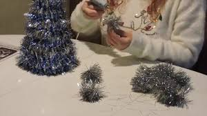 easy diy christmas tree centerpiece youtube