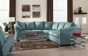 Sectional Sofas With Recliners by Signature Design By Ashley Darcy Sky Contemporary Sectional Sofa