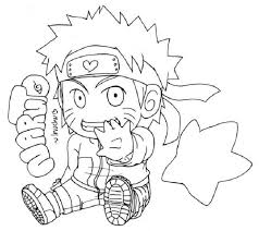 45 anime images coloring pages naruto