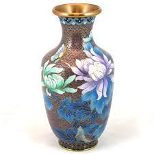Antique Cloisonne Vases Excellent Jingfa Brand Mulberry Color Cloisonne Vase 8 1 4
