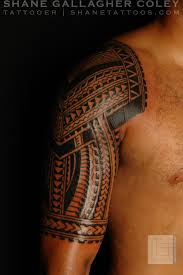 maori sleeve maori polynesian tattoo polynesian half sleeve