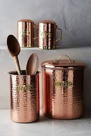 copper kitchen canister sets copper plated canister set canister sets kitchens and copper