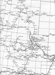 Western Colorado Map by At U0026t Long Lines Places And Routes