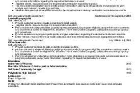 Criminal Justice Resume Sample by Criminal Justice Sample Resume Criminal Justice Associates Degree
