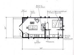 Cabin Floorplan 392 Sq Ft Escape Cabin