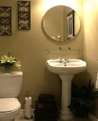 pedestal sink bathroom design eas with wonderful small bathroom