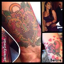miss jackson covers up mayweather tattoo for new love w nelly