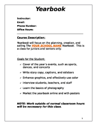 class yearbooks yearbook syllabus yearbooks yearbook ideas and teaching yearbook