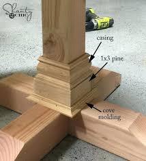 Unfinished Pedestal Table Wood Table Pedestals U2013 Littlelakebaseball Com