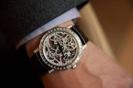 piaget skeleton why diamond set watches are their own complication