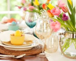 table decorations for easter easter table decor ideas walmart