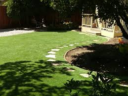 City Backyard Ideas Synthetic Lawn Fort Jones California City Landscape Backyard Ideas