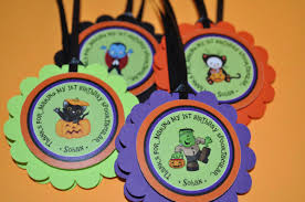 1st Halloween Birthday Party Ideas by Halloween Birthday Favor Tags Halloween Birthday Decorations 1st
