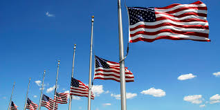 Why Are The Flags Flying Half Mast President Obama 2016 Candidates Express Shock Sadness Over