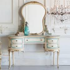 French Country Style French Country Style Vintage Vanity 1940 Kathy Kuo Home