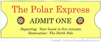 east coast mommy my version of the polar express