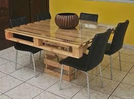 table de cuisine en palette table en palette 25 idées pour fabriquer votre propre table en bois