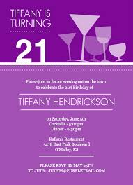 21st birthday invites template best template collection