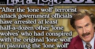 Lone Wolf Meme - why the left s lone wolf narrative is complete nonsense meme