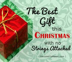 the best christmas gift with no strings attached moments with
