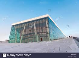 minimalism architecture oslo opera house minimalism and contenporany architecture stock