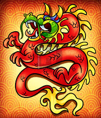 chinese new year dragon drawing lesson step by step by