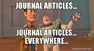 Meme Journal - journal articles journal articles everywhere buzz and