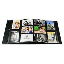 Leather Photo Album 4x6 Parah Life Premium Collage Family Wedding Anniversary Baby