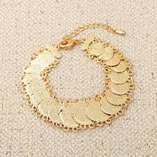 bridal bracelet gold images Buy new bridal bracelet for wedding coin jewelry jpg