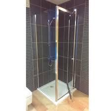 Infold Shower Door Simpsons Edge Infold Door Shower Enclosure Baker And Soars