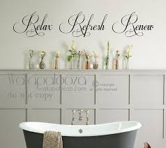 Bathroom Quotes For Walls Best 25 Bathroom Wall Decals Ideas On Pinterest Ps I Love You