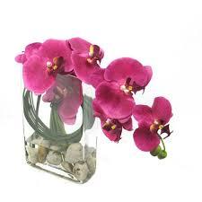 faux orchids florals orchid faux flowers and plants bellacor