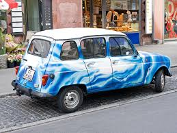 renault blue renault 4 review and photos