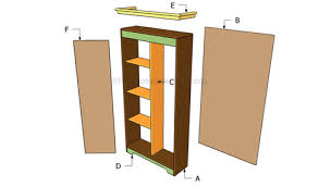 Tv Stand Plans Howtospecialist How by How To Build An Armoire Wardrobe Howtospecial