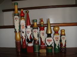 santa u0027s made from spindles sunday pinterest spindle