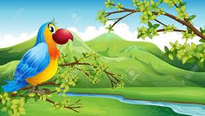 birds in jungle clipart clipartxtras