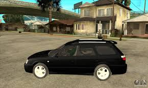subaru station wagon subaru legacy station wagon for gta san andreas