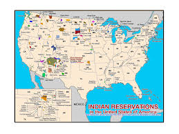 map usa indian reservations maps of american tribes and reservations in the united