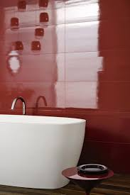 imperfetto coloured porcelain bathroom tiles marazzi