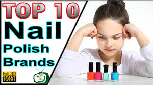 top 10 best nail polish brands in india and pakistan youtube
